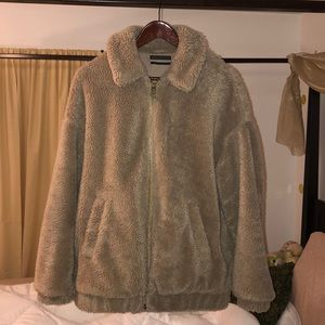 Teddy coat. Urban outfitters! Perfect condition!